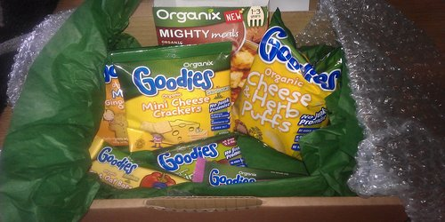 Organix toddler meal / baby food review